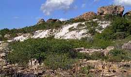 Morro do Chap�u - Morro do Chap�u-BA-Campo Rupestre e duna na caatinga-Foto:Caio Graco Machado