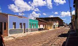Morro do Chapéu - Morro do Chapéu-BA-Casario no centro da cidade-Foto:Caio Graco Machado