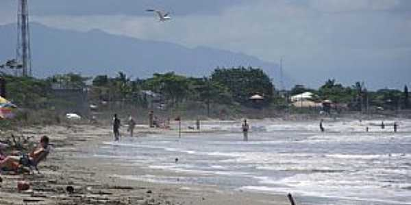Itapoá-SC-Vista da Praia-Foto:Gilson Olivio da Rosa