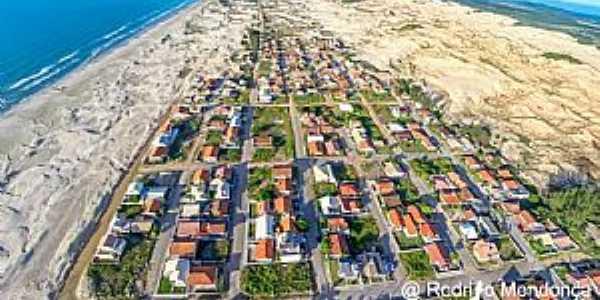Praia do Arroio Corrente em Jaguaruna SC