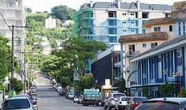 Joaçaba - Joaçaba-SC-Rua Tiradentes-Foto:THIAGO DAMBROS