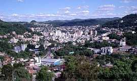 Joaçaba - Joaçaba-SC-Vista da cidade-Foto:THIAGO DAMBROS
