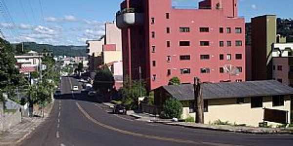 Joaçaba-SC-Avenida de entrada da cidade-FotoTHIAGO DAMBROS