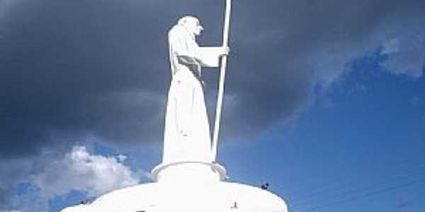 Joaçaba-SC-Monumento ao Frei Bruno-Foto:THIAGO DAMBROS
