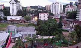 Joinville - Vista parcial da cidade de Joinville-Foto:THIAGO DAMBROS