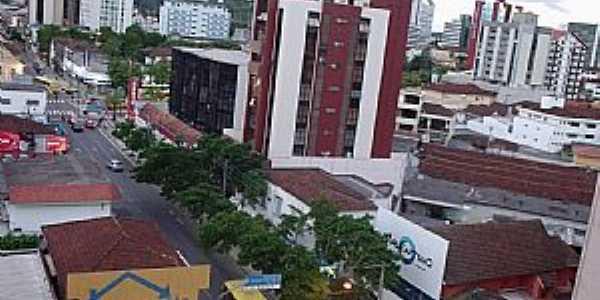 Joinville-SC-Vista da área central-Foto:THIAGO DAMBROS