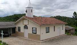 Lauro Müller - Lauro Muller-SC-Capela de São Benedito na Comunidade KM-1-Foto:José Carminatti