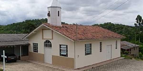Lauro Muller-SC-Capela de São Benedito na Comunidade KM-1-Foto:José Carminatti