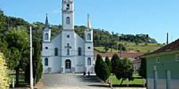 Igreja Matriz de Leoberto Leal-Foto:Flavio Renato Ramos …