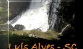 Luiz Alves - Cachoeira na localidade de Alto Máximo, Por M