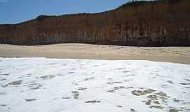 Mucuri - Mucuri-BA-Falésias na Praia Costa Dourada-Foto:Rubens Mota