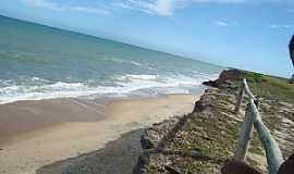 Mucuri - Mucuri-BA-Orla da Praia Costa Dourada-Foto:Rubens Mota