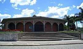 Mafra - Igreja de São Cristóvão no Bairro Restinga em Mafra-SC-Foto:Jair Teixeira