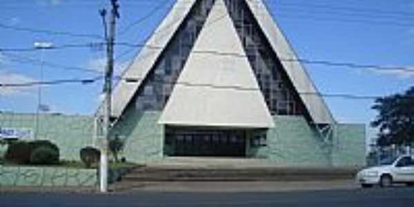 Igreja de São José em Mafra-SC-Foto:Jair Teixeira