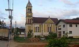 Major Gercino - Igreja Senhor Bom Jesus no centro de Major Gercino-SC-Foto:José Carminatti