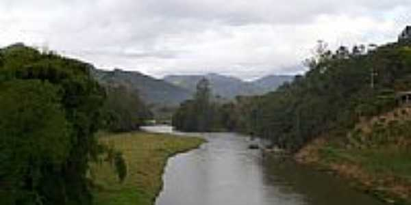 Rio Tijucas em Major Gercino-SC-Foto:José Carminatti