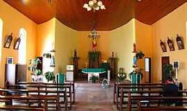 Major Vieira - Major Vieira-SC-Interior da Capela de São Sebastião Comunidade Colônia Ruthes-Foto:Ivo Kindel