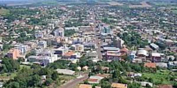 Maravilha-SC-Vista aérea da cidade-Foto:deiwys