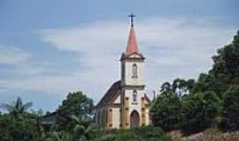Massaranduba - Igreja de confissão Luterana em Massaranduba-Foto:Angelo Carlos Ronchi