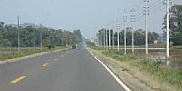 SC-448 entre Meleiro e Turvo