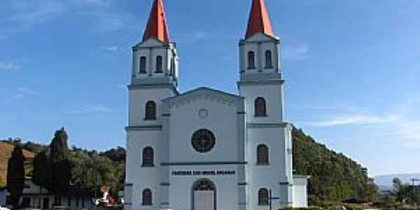 Igreja São Miguel Arcanjo - Barra da Paleta Mirim Doce - SC  - Foto Ivo Kindel