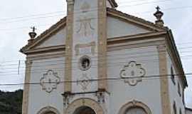 Nova Trento - Antiga Igreja Matriz de Nova Trento-SC-Foto:Carlos C. Nasato