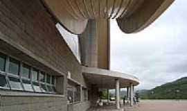 Nova Trento - Detalhe do Santuário de Santa Madre Paulina em Nova Trento-SC-Foto:Romão