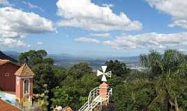 Nova Trento - Nova Trento-SC-Vista do alto do Morro da Cruz-Foto:Sandro Salomon
