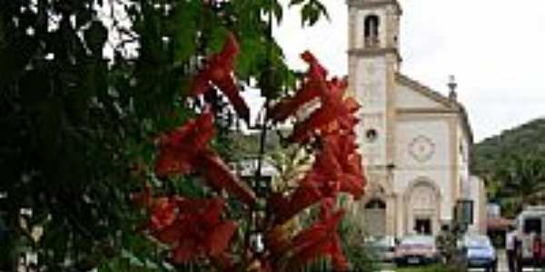 Igreja construida com a participação de Madre Paulina em Vígolo, Nova Trento-SC-Foto:Romão