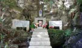 Orleans - gruta nossa senhora de Lourdes Rio Amaral sc., Por Maria de Fátima Costa