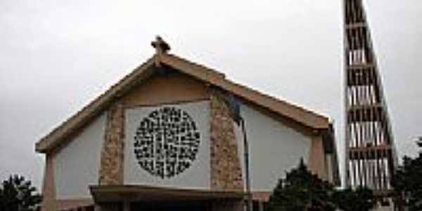 Palhoça-SC-Igreja do Senhor Bom Jesus de Nazaré-Foto:Ebrael Shaddai