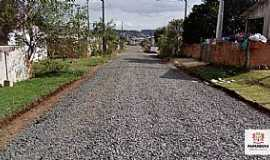Papanduva - Rua do bairro Santa Mônica