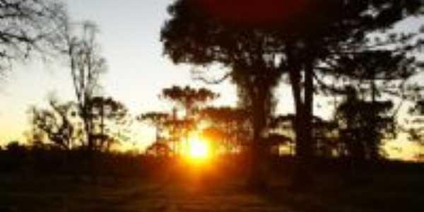 Por do sol em Papanduva, Por Luiz Carlos Oczkovski