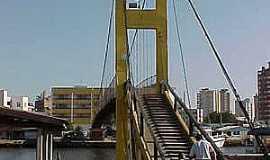 Passo de Torres - Passo de Torres-SC-Ponte de Arame-Foto:Brenner W. C.