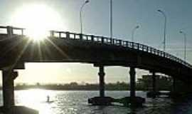 Passo de Torres - Passo de Torres-SC-Ponte que liga à cidade de Torres-Foto:www.clicrbs.com.br
