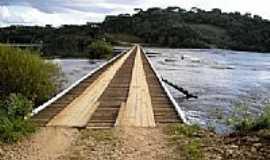 Passos Maia - Ponte Baixa no Rio Chapecó em Passos Maia-SC-Foto:Pedro L. V. Junior