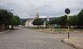 Mutans - Praça e Igreja Matriz-Foto:Washington.dm