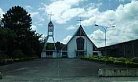 Petrol�ndia - Igreja Matriz de Petrol�ndia-SC-Foto:Angelo Carlos Ronchi