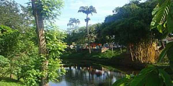 Mutuipe e o Rio Jequiriça - por Marcelo S F