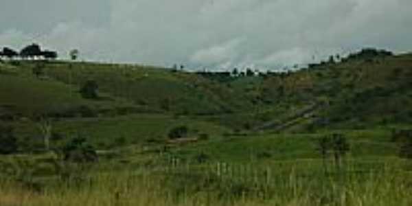 Vista de �rea rural de Mutu�pe-BA-Foto:NAYLTON CERQUEIRA