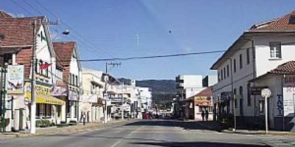 Presidente Getúlio-SC-Rua do Comércio-Foto:Angelo Carlos Ronchi