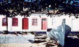 Ribeirão da Ilha - O casario açoriano  Fotografada por SANTUR