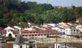 Nazaré - Parte da cidade de Nazaré, BA, Por Divaldo da Silva