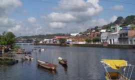 Nazaré - Rio Jaguaripe, Nazaré, BA, Por Divaldo da Silva