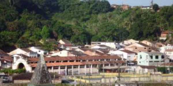 Parte da cidade de Nazaré, BA, Por Divaldo da Silva