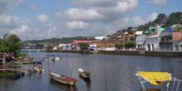 Rio Jaguaripe, Nazaré, BA, Por Divaldo da Silva