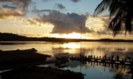 Nilo Peçanha - por do sol em barroquinha, Por Dalvo queiroz pereira