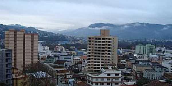 Rio do Sul/SC. Visão aérea da cidade - Por J C Carvalho