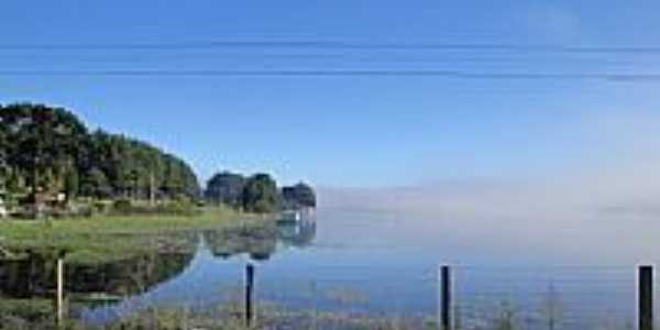 Lago Volta Grande em Rio Negrinho-Foto:Fernando_Schmitt