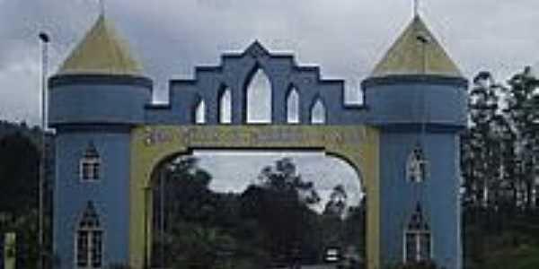 Portal de entrada da cidade de Salete-Foto:Angelo Carlos Ronchi